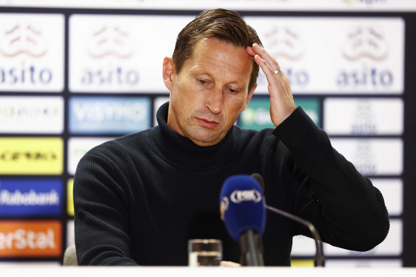 Roger Schmidt na Heracles Almelo-PSV.
