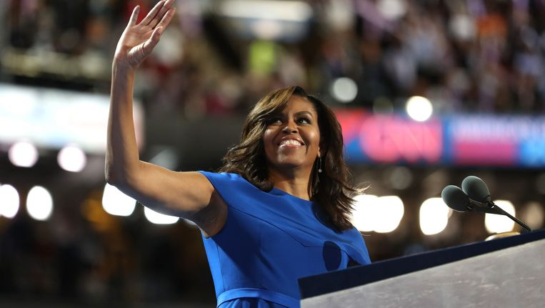 Michelle Obama. Beeld AFP