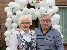 Zestig jaar getrouwd en samen een maatschappelijk steentje bijgedragen