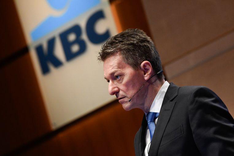 Johan Thijs, CEO van KBC Bank.
