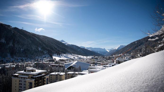 Davos où se tiendra le forum économique mondial