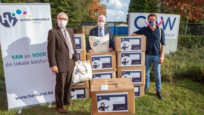 """CAW Halle-Vilvoorde krijgt 9.000 mondmaskers van Haviland: """"Meer dan welkom, want vraag naar psychologische hulpverlening stijgt"""""""