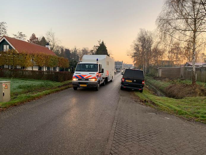 Onderzoek in Steenbergen naar vermiste Johan van der Heyden.