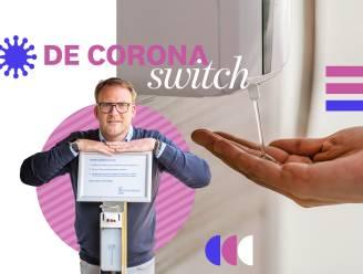 De coronaswitch: Thierry (42) werkte in de eventsector en begon een eigen bedrijf met ontsmettingszuilen