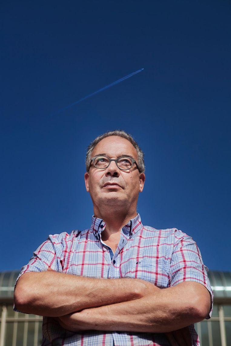 Twee bezwaren van Its van der Es uit Baarn werden deze maand afgewezen omdat hij volgens de luchtvaartinspectie geen belanghebbende is Beeld Mark van der Zouw