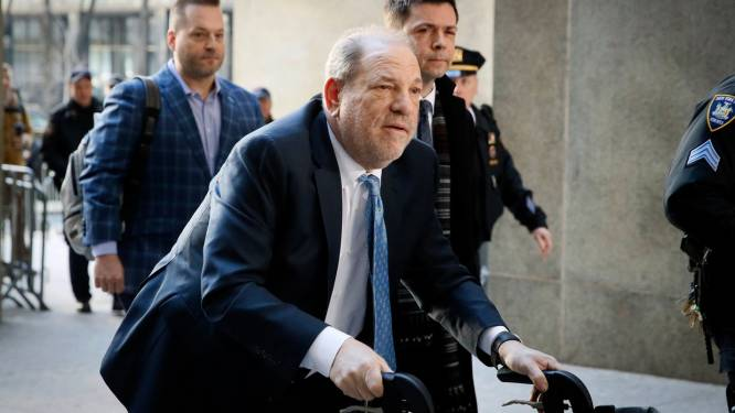 Harvey Weinstein dan toch niet vrij op borgtocht omdat hij 'waarschijnlijk zou vluchten'