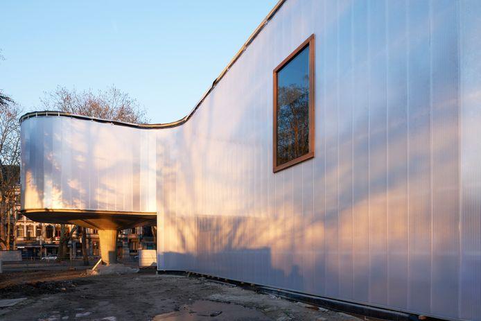 Le Trinkhall, situé dans le parc d'Avroy, ouvrira le 19 mars 2020.
