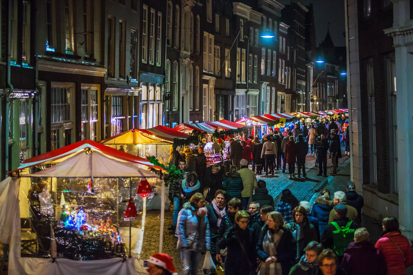 De kerstmarkt in Dordrecht.