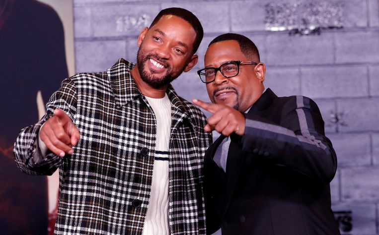 Will Smith en Martin Lawrence, de hoofdrollen uit 'Bad Boys'.