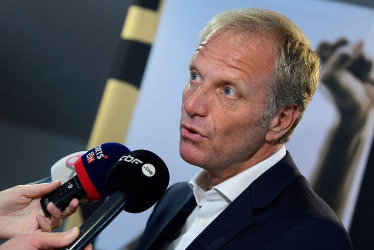 Peter Bossaert, CEO Voetbalbond