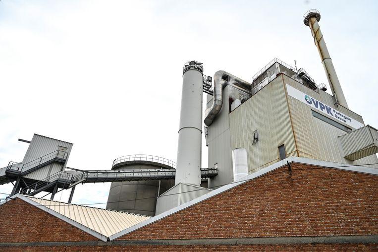 Er blijkt bij papierproductie VPK in Oudegem geen enkel risico op legionellabesmetting.