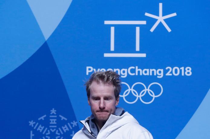 De Amerikaanse skiër Ted Ligety.