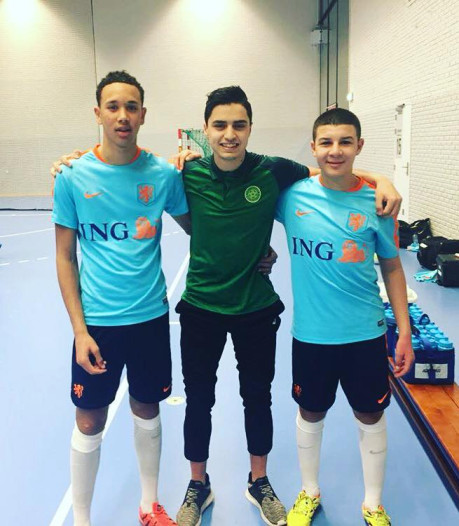 Gylermo Siereveld wil zaalvoetballen, maar stuit op verbod JVOZ