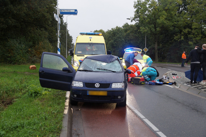 Ernstig ongeluk in Vlijmen.