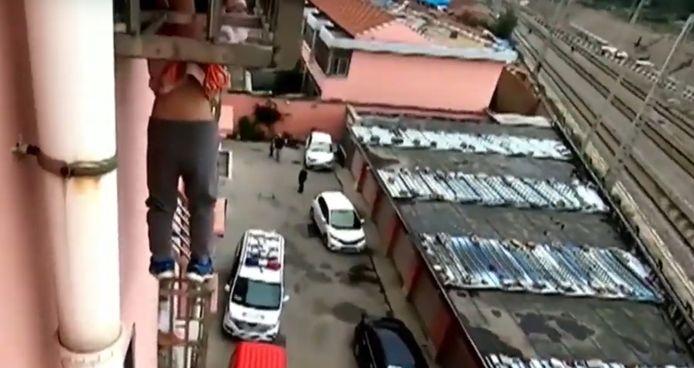 Incident impressionnant à Linyi, en Chine