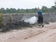 Grote brand op Oirschotse heide ontstond door militaire oefening