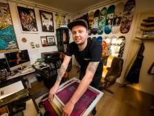 Jorick uit Hengelo volgt zijn passie:''Altijd al een eigen skateboard willen bedrukken''