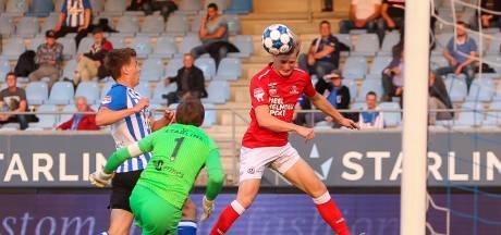 FC Eindhoven is de gelukkigste in tamme wedstrijd: 'Niet het échte derbygevoel'