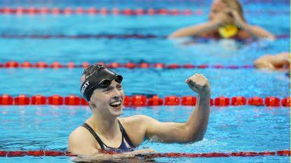 Amerikaanse zwemsensatie verpulvert eigen wereldrecord op 1.500m met maar liefst vijf seconden