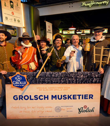 Grolsch Musketier is speciaalbier voor Slag om Grolle
