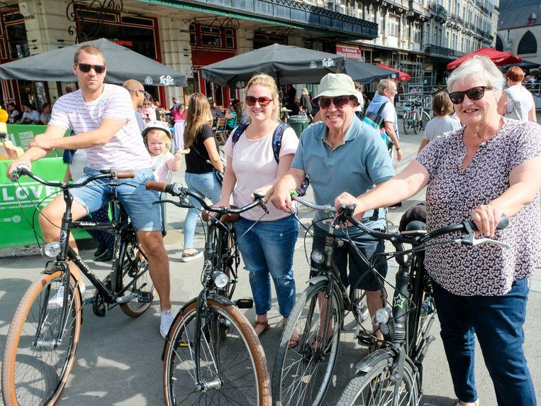 Deze familie uit Asse herondekt Brussel