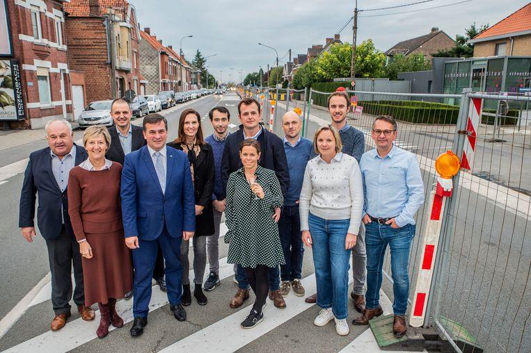 Handelaars, buren en het stadsbestuur zien de start van de werken positief tegemoet.