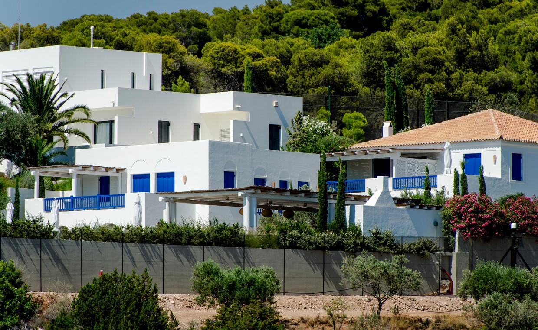 Het vakantiehuis van koning Willem-Alexander en koningin Máxima in Griekenland. Beeld Hollandse Hoogte /  ANP