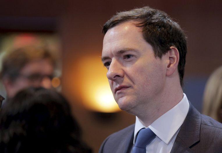 George Osborne, de Britse minister van Financiën. Beeld REUTERS