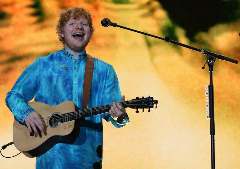 Ed Sheeran Beeld epa
