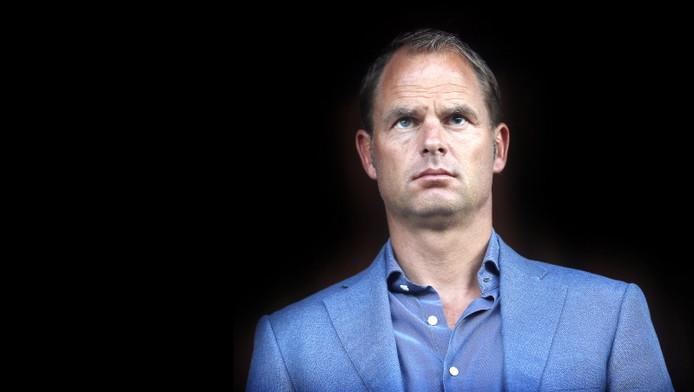 Frank de Boer is tevreden over de ontwikkeling van Ajax.