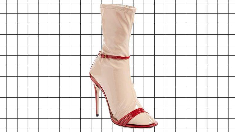 De sok-in-sandaalcombinatie van Gucci. Prijskaartje: € 980.