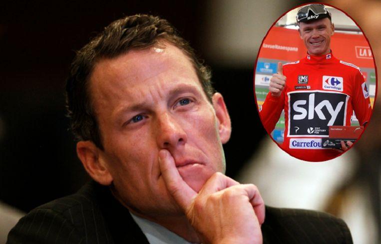 Armstrong heeft zo zijn bedenkingen bij de hele zaak.