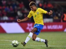 Ajacied David Neres laat zich gelden bij debuut voor Brazilië