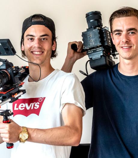 Dit Bergse duo verdient geld door festivals te filmen