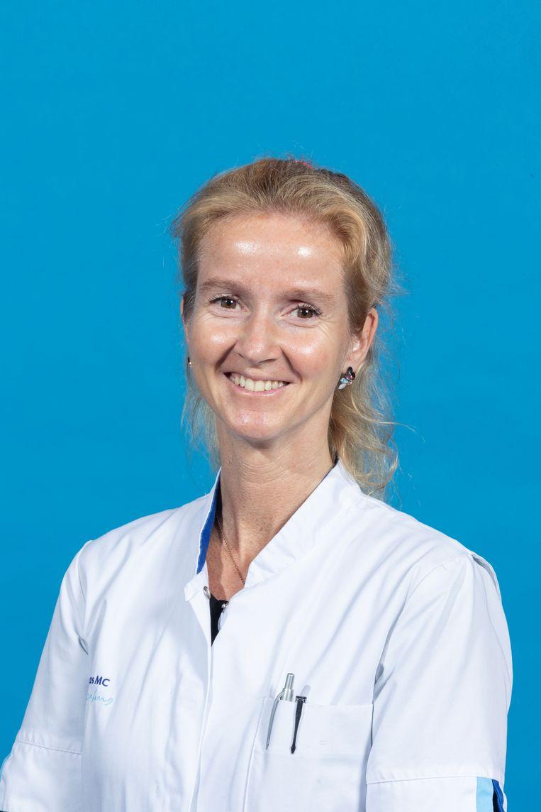 Natasja de Groot, cardioloog-elektrofysioloog. Beeld Erasmus MC