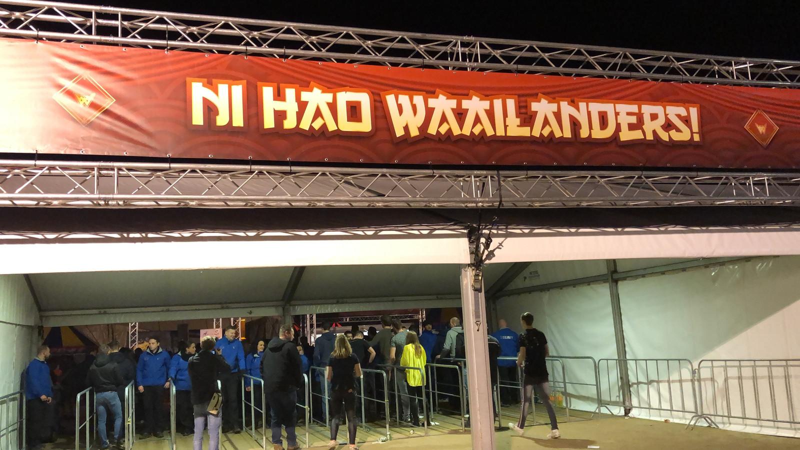Made hult zich in Chinese sferen tijdens deze vijfiende editie van Waailand Feestival