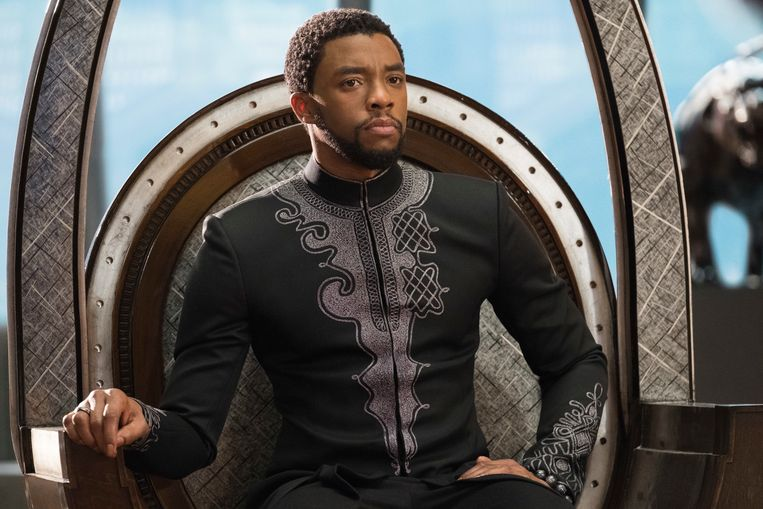 Chadwick Boseman in 'Black Panther'.