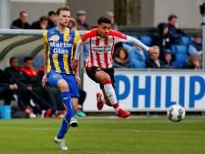FC Oss hard onderuit tegen Jong PSV van oud-doelman Koopmans