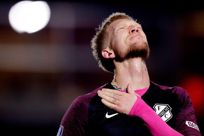Hét moment van Simon Makienok, zijn eerste doelpunt in het shirt van FC Utrecht.