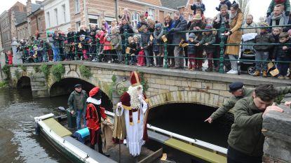 Sint komt zaterdag bootje varen in Lier