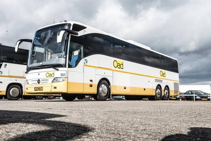 Dieven zijn bij Verona aan de haal gegaan met een identieke bus als op deze foto.