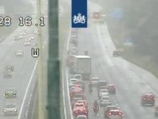 Vertraging door ongelukken op de A28 bij Soesterberg