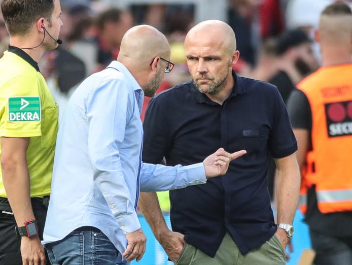 Alfred Schreuder was Peter Bosz de baas in het duel tussen de twee Nederlandse trainers in de Bundesliga.