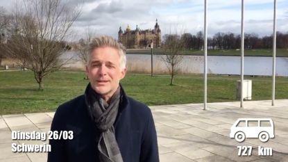 Christoff raast door en krijgt hoog bezoek in zijn derde vlog