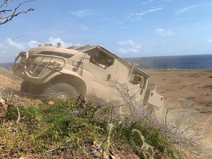 Deba uit Etten-Leur levert de Anaconda die Defensie inzet op Curacao.