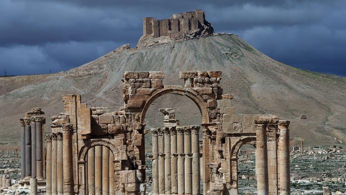 Een deel van de culturele pracht in Palmyra