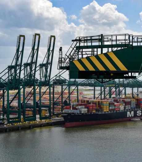 Dertigtal schepen kan Antwerpse haven niet in door nationale actiedag