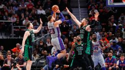 VIDEO. Detroit Pistons maakt einde aan NBA-zegereeks Boston Celtics
