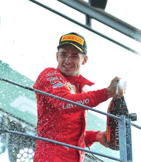 Au terme d'une course haletante, Charles Leclerc enchaîne et remporte le GP d'Italie