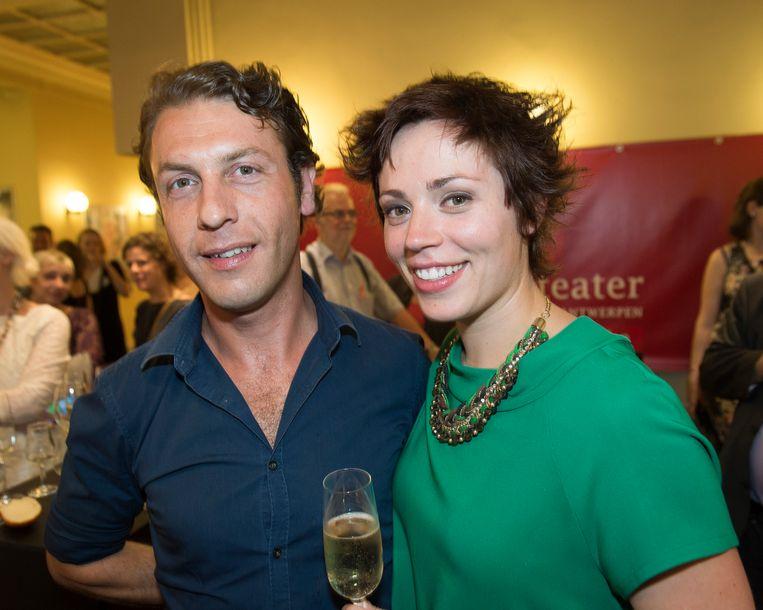 Sofie Van Moll en haar man Jelle Van Riet